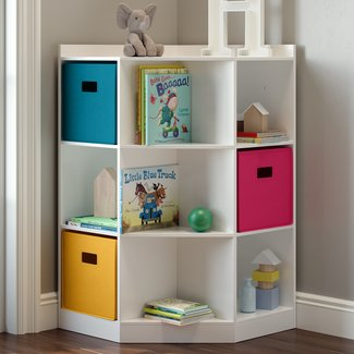 RiverRidge 6-Cubby, 3-Shelf Toy Organizer
