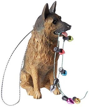 Sandicast Large Life Size German Shepherd Sculpture