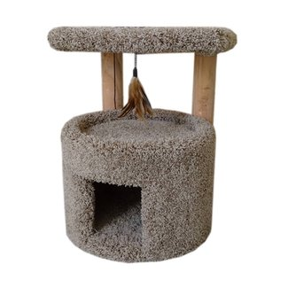 Small Cat Condo With Carpet Lining