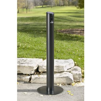 Smokers' Outpost Smoke Stand Cigarette Receptacle