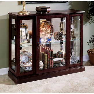 Small Gl Curio Cabinet Display Case