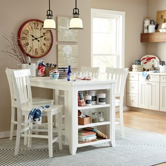 Kitchen Table With Storage Underneath