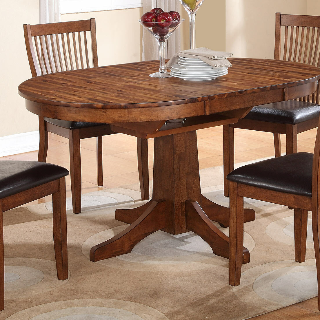 round dining table with leaf extension ideas on foter rh foter com dining room tables with 2 leaves dining room table with leaves plans