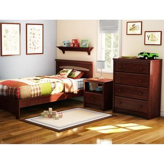 Sweet Morning Twin Panel Configurable Bedroom Set