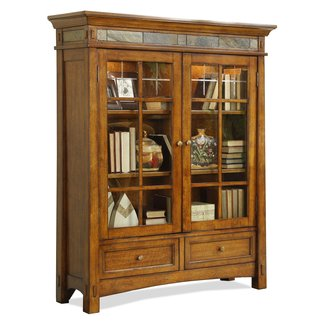 Traditional Standard Bookcase With American Oak Finish