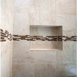 Two By Two Porcelain Mud Cap Corner Tile Trim In Cream