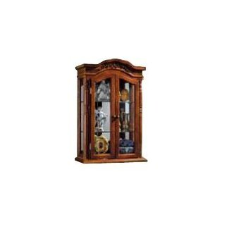 Wall Mounted Curio Cabinet With Removable Glass Shelves