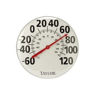"Weather Resistant Metal 18"" Thermometer"