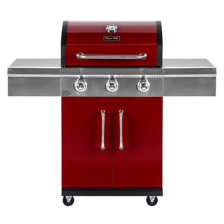 3-Burner Propane Gas Grill with Cabinet