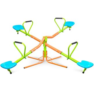 360° Quad Swivel Kids Seesaw