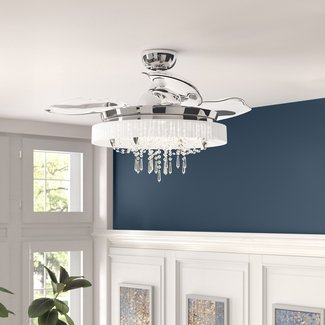 "42"" Sweitzer 3 -Blade Ceiling Fan with Remote Control and Light Kit Included"