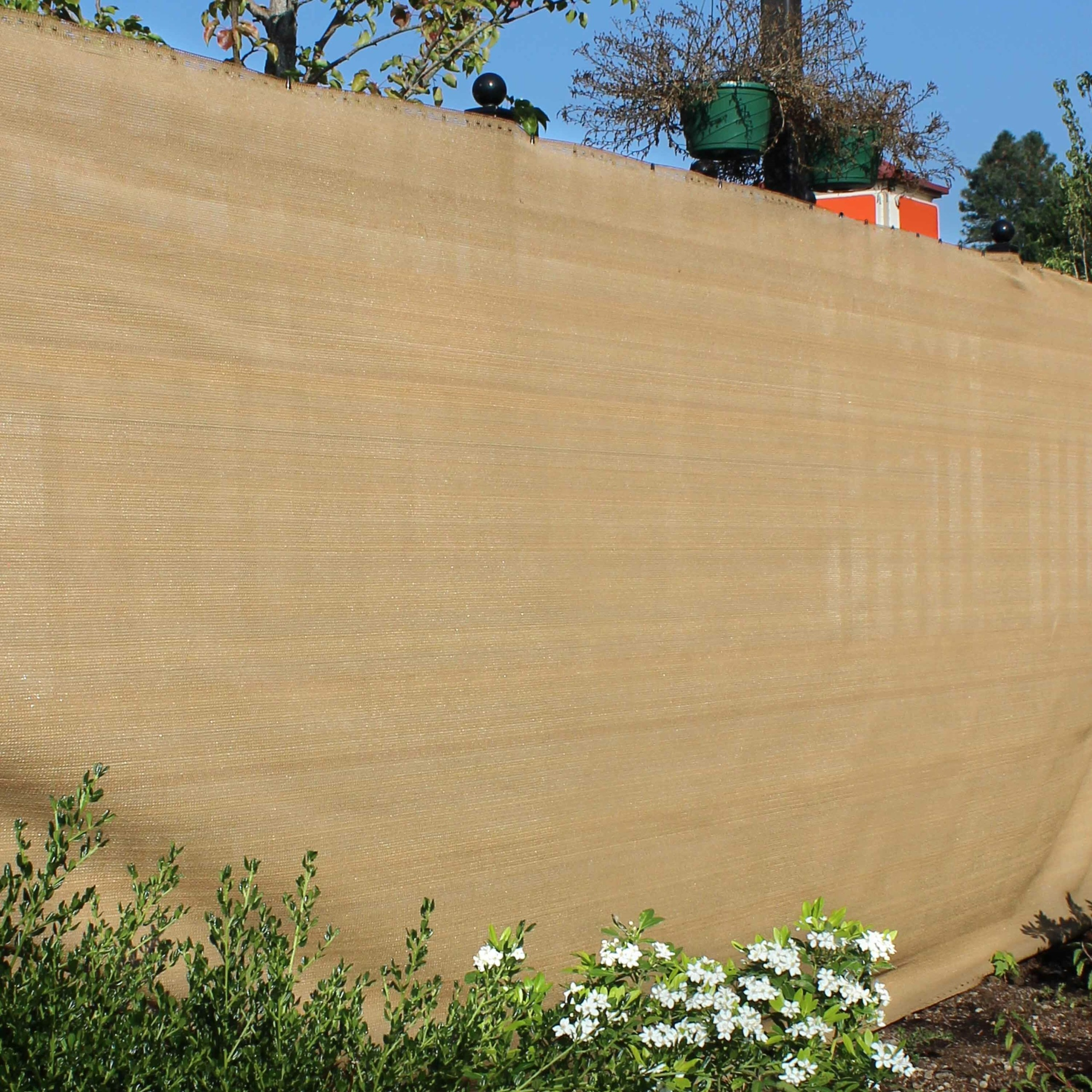 6 ft. H x 150 ft. W Multi-Color Privacy Screen