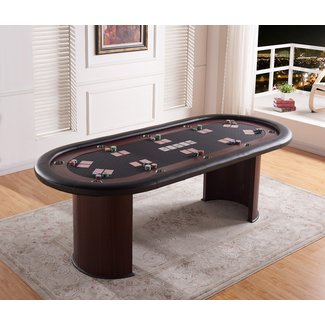 "96"" Professional Texas Hold'em Casino Poker Table"