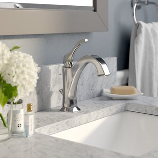 Arlo Single Hole Bathroom Faucet with Drain Assembly