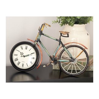 Bicycle Tabletop Clock