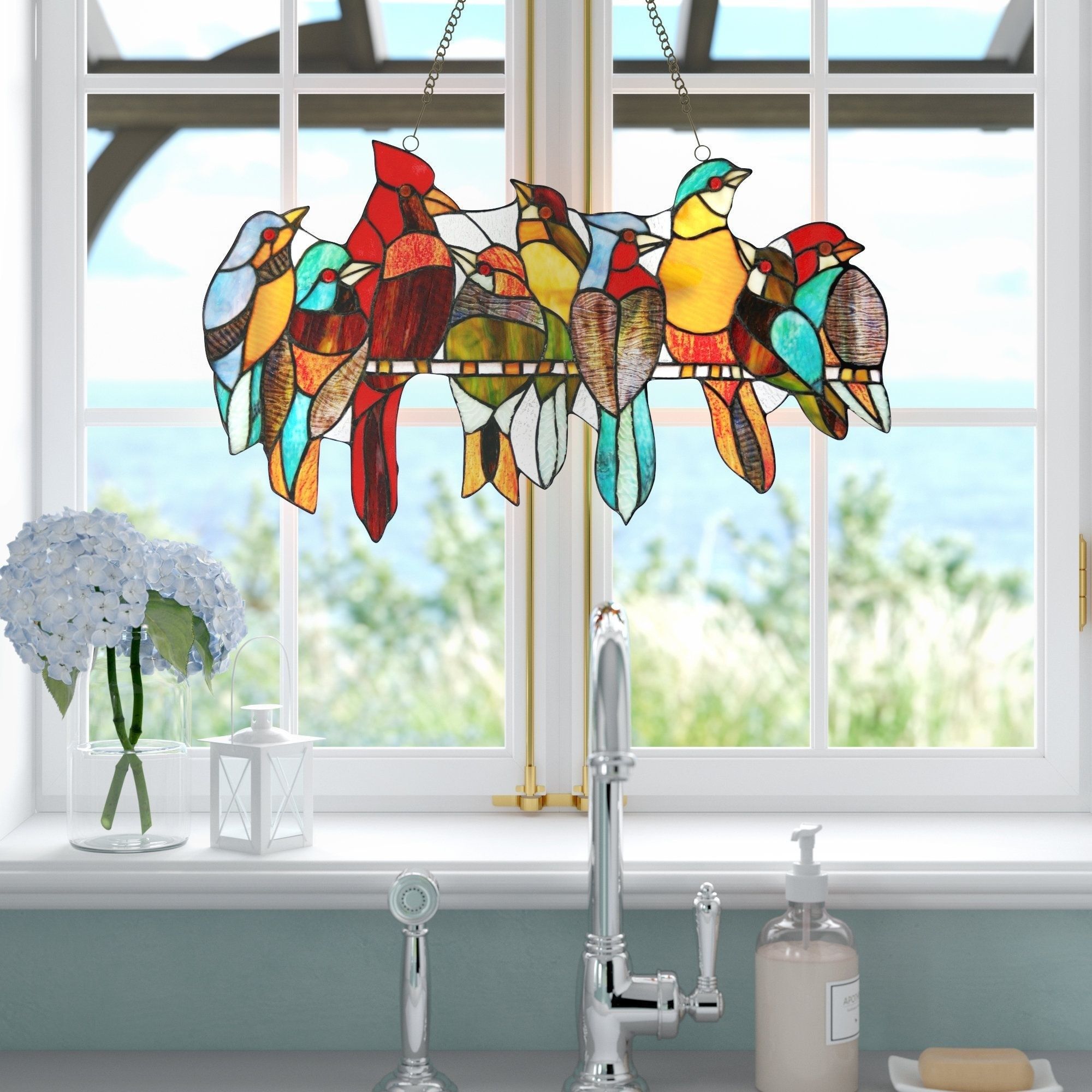 How To Choose A Stained Glass Panel