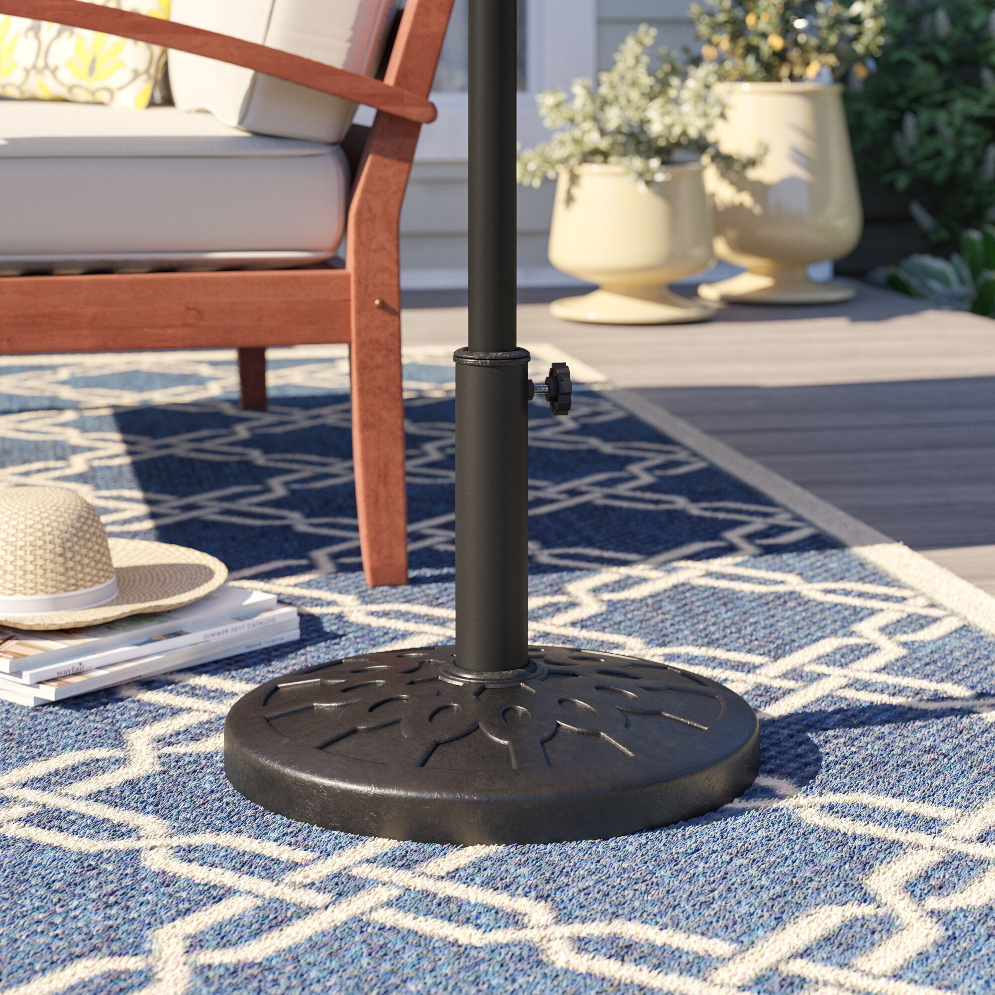 How To Choose A Patio Umbrella Stand & Base