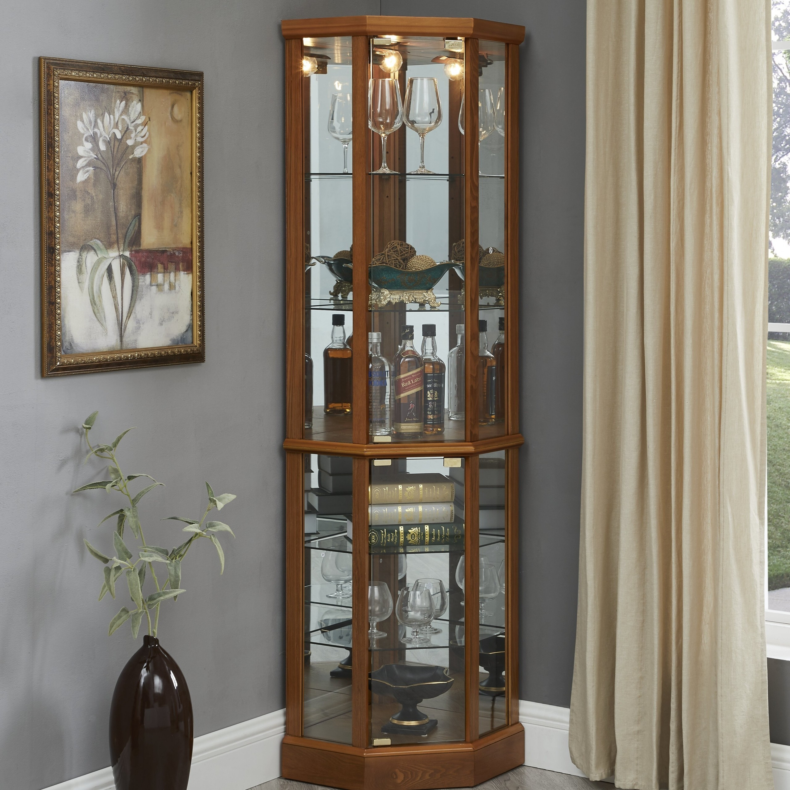 How To Choose A Corner China & Curio Cabinet