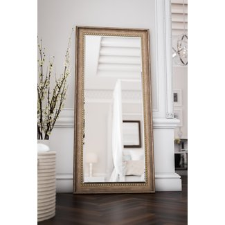 Brunswick Floor Rustic Beveled Distressed Full Length Mirror