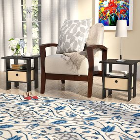 Coughlin End Table Set with Storage (Set of 2)