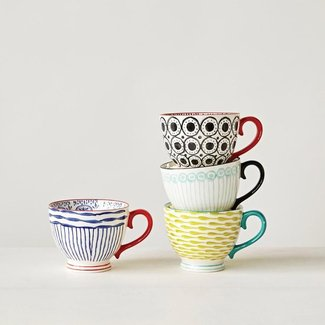 Edelen 4 Piece Teacup Set