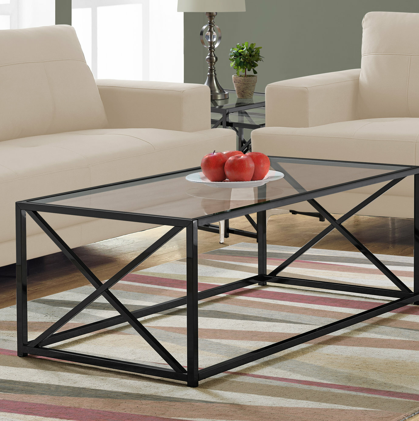 Geise Solid Coffee Table