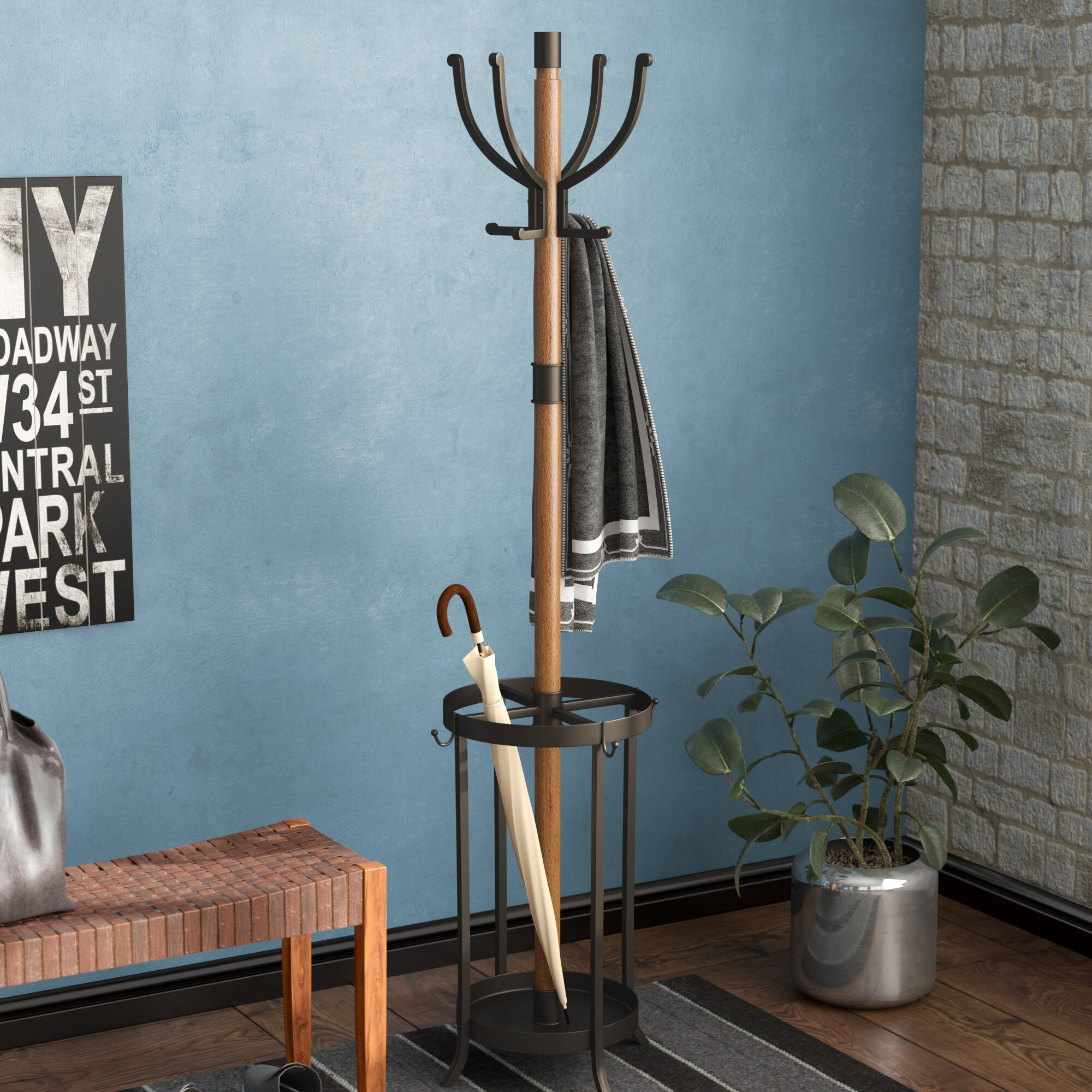 How To Choose Coat Racks & Umbrella Stands