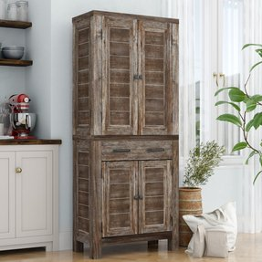Tall Kitchen Pantry Cabinet Ideas On Foter