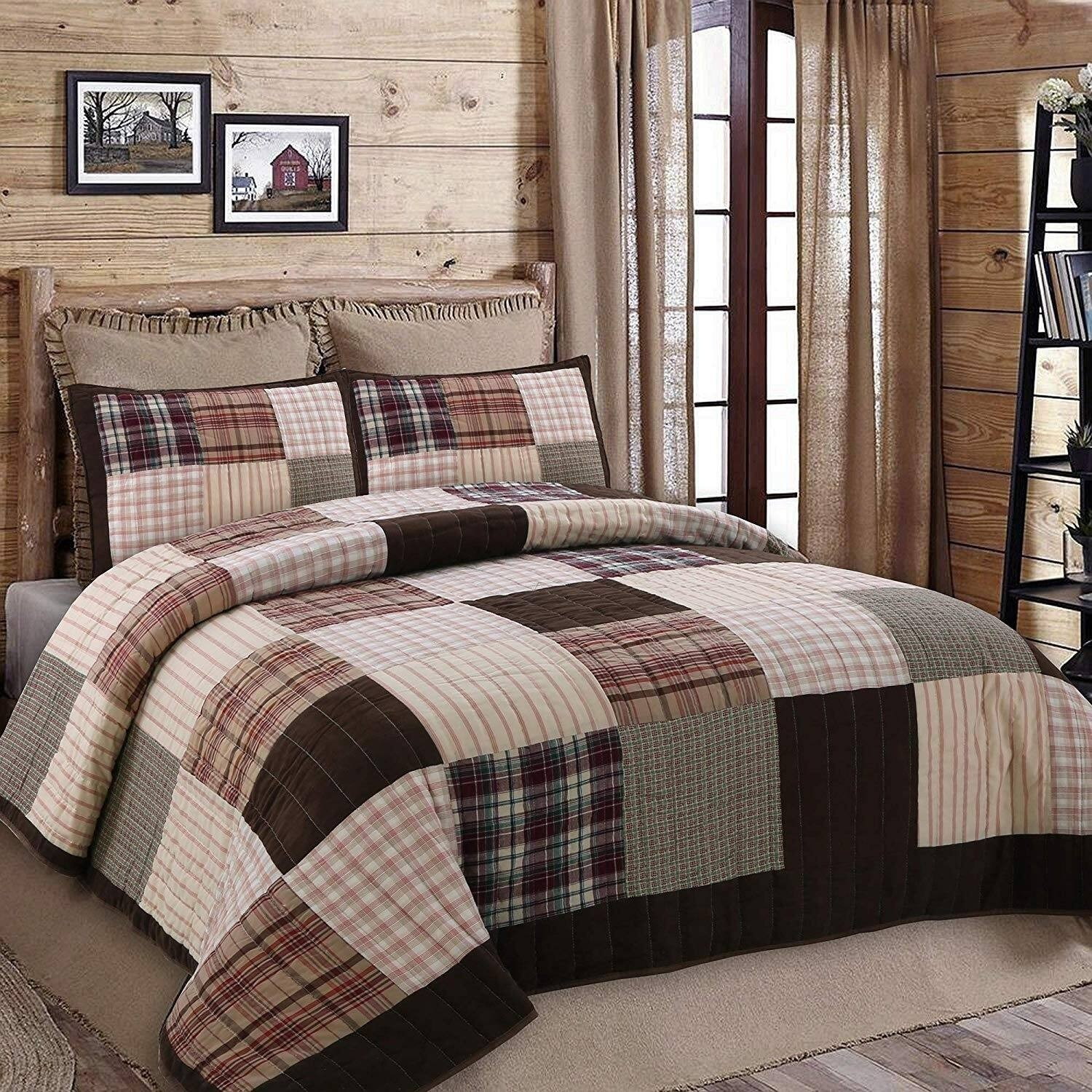 Jakob Patchwork Reversible Quilt Set