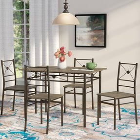 Kieffer 5 Piece Dining Set