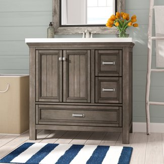 "Melgar 36"" Single Bathroom Vanity Base Only"