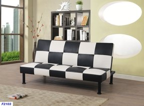 "Moorhead 64"" Armless Sofa Bed"