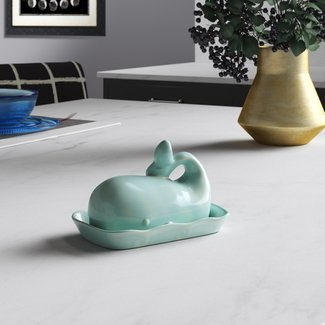 Natividad Whale Butter Dish