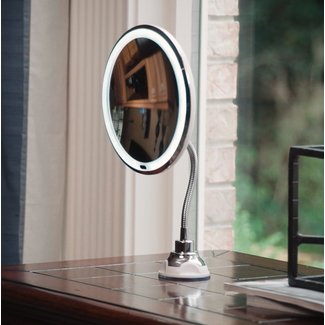 Nubrilliance My Flexible LED Lighted Mirror