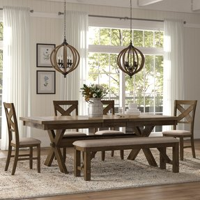 Poe Extendable Dining Set