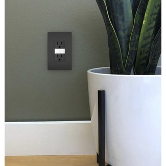Radiant Night Light Wall Mounted Outlet