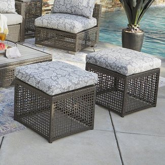 10 Best Patio Ottomans For 2021 Ideas On Foter