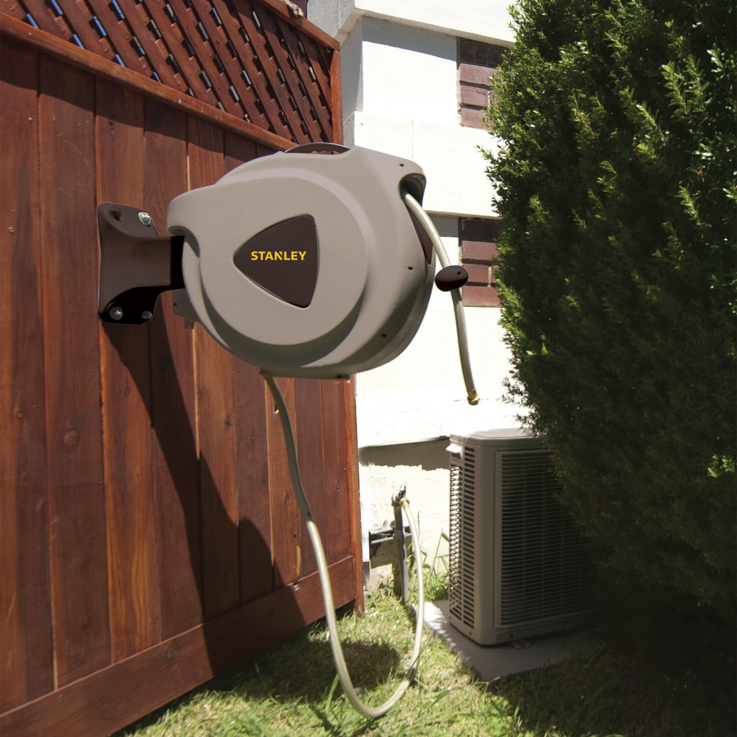 Stanley Plastic Wall Mounted Hose Reel