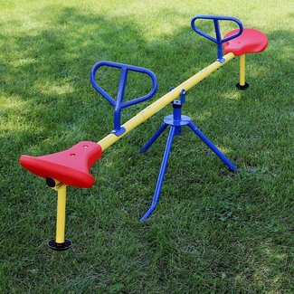 Swivel Teeter Totter
