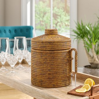 Telford Rattan Ice Bucket