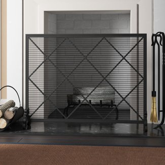 10 Best Fireplace Screens for 2020 - Ideas on Foter