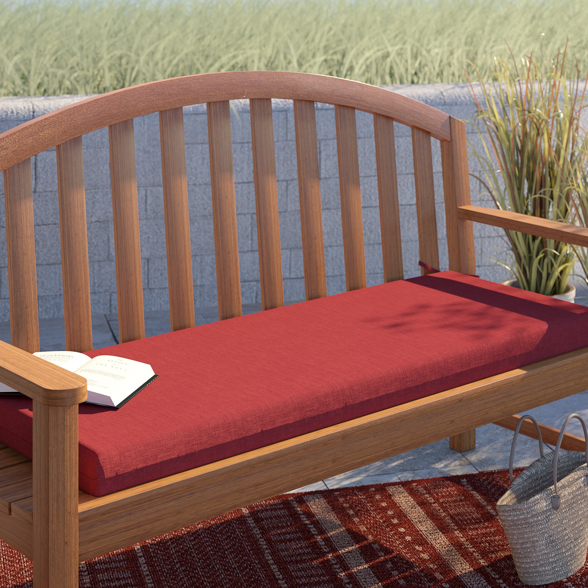Texture Outdoor Bench Cushion