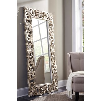 Traditional Rectangle Accent Mirror