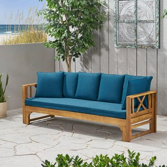 Trevion Extendable Patio Sofa with Cushions