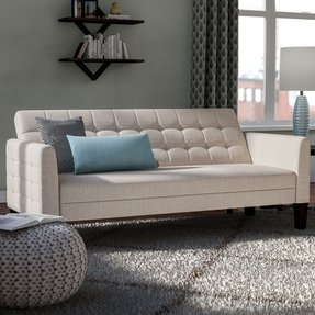 "Tynemouth 63"" Round Arm Sofa Bed"