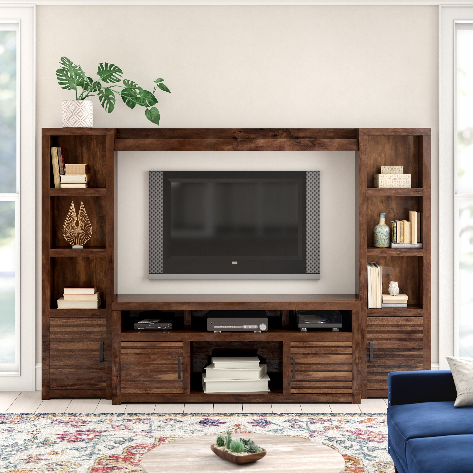 Yessenia Entertainment Center for TVs up to 75""