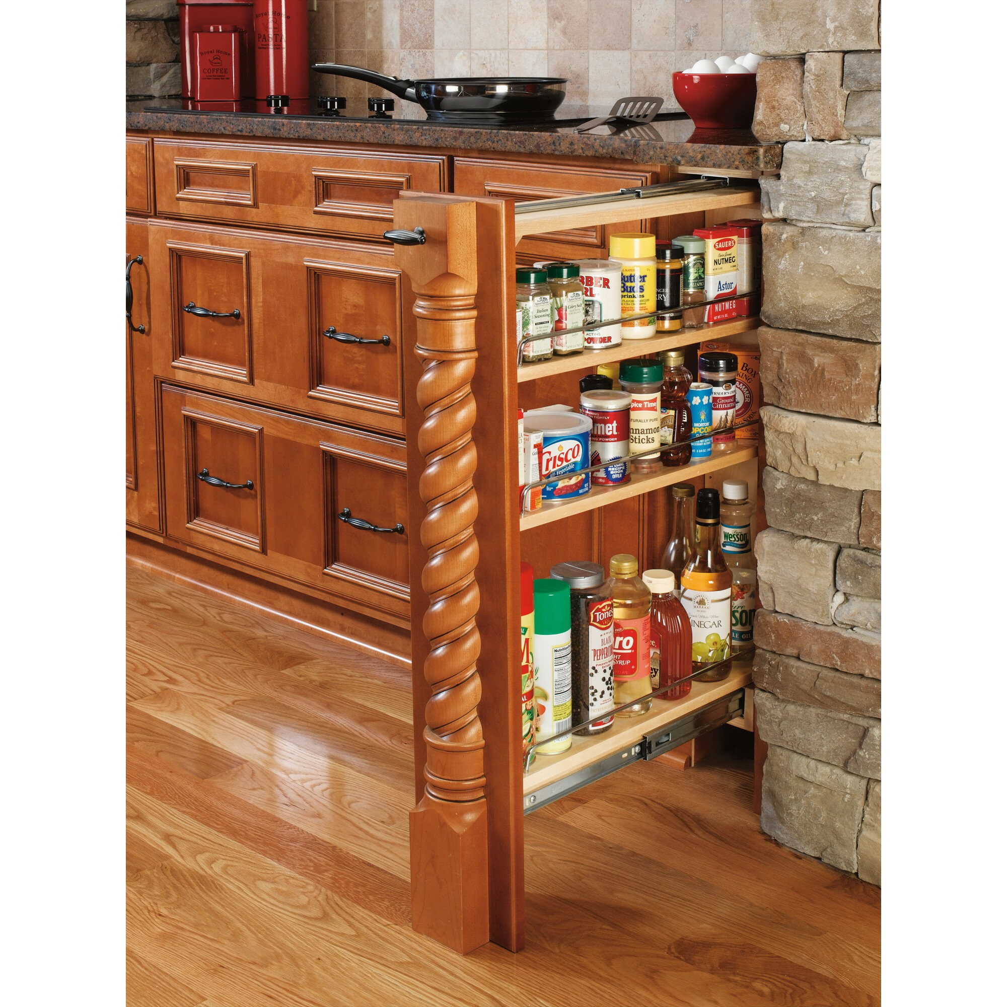 Base Cabinet Filler Pull Out Pantry