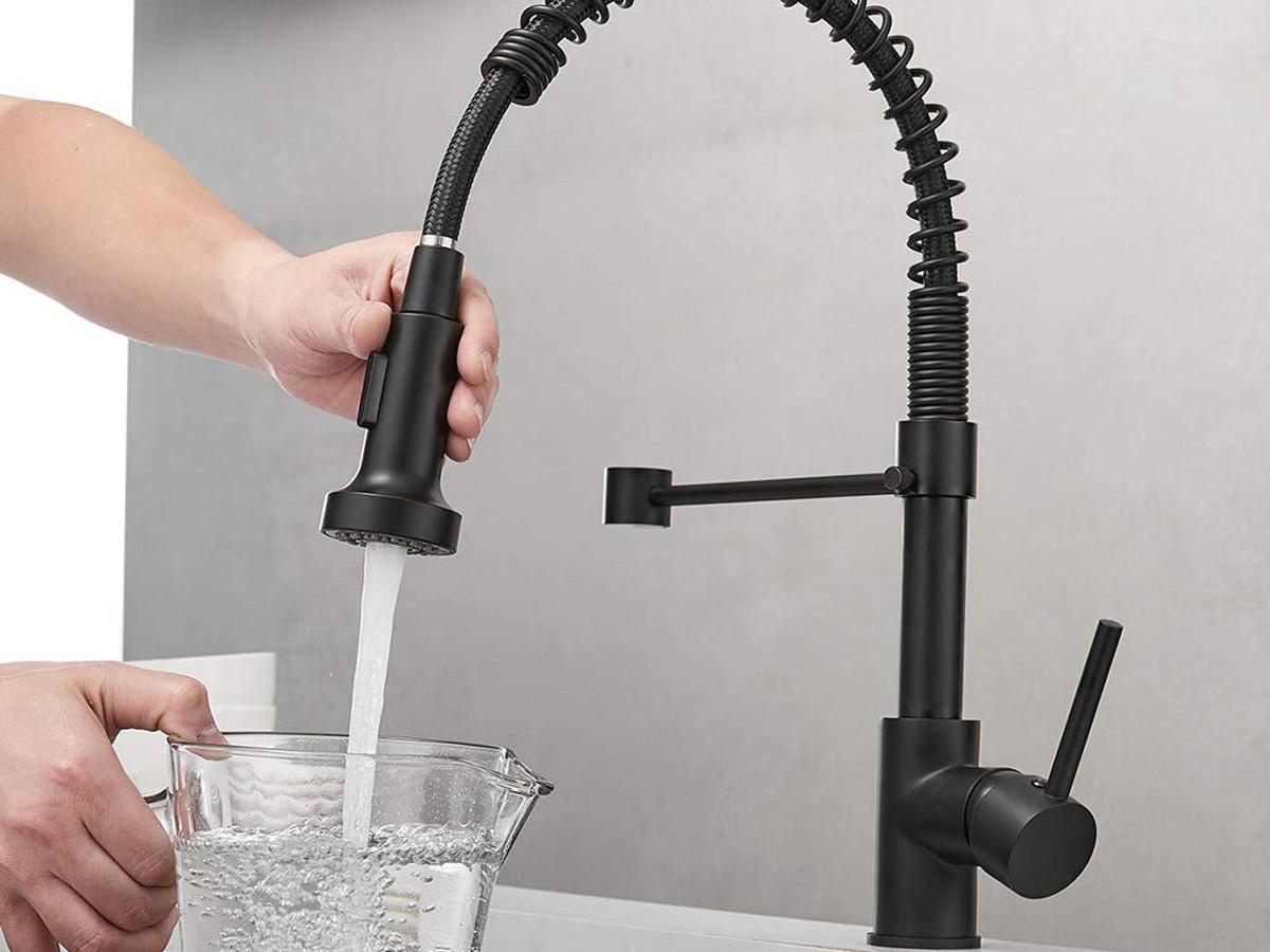 Black Kitchen Faucet