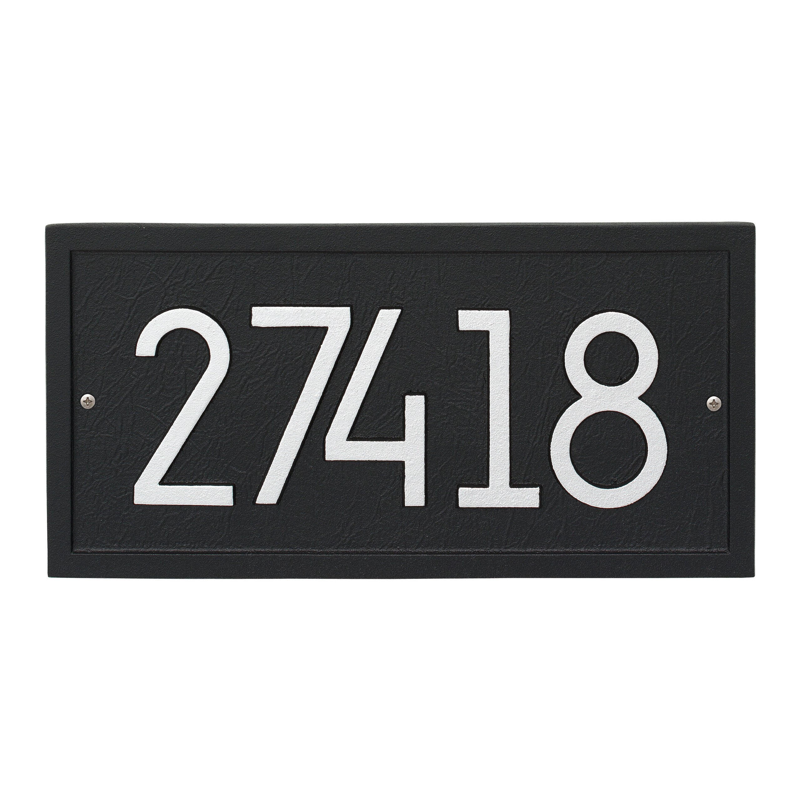 How To Choose An Address Plaque And Sign