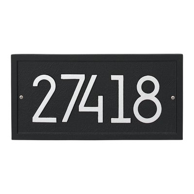 How To Choose An Address Plaque And Sign Foter